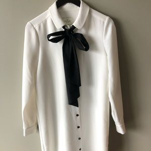 Kate Spade shirt dress